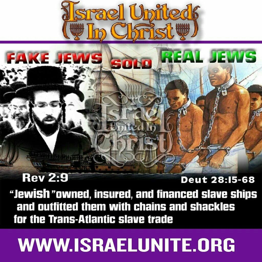 Fake Jews Sold Real Jews Blacks Hispanics And Native