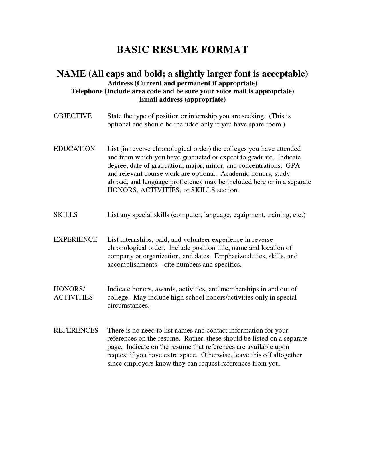 Reference Example For Resume Popular Proper Way To List References
