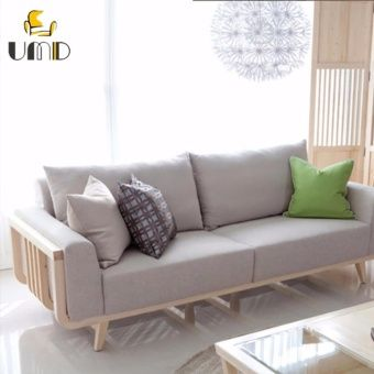 Buy Umd Korean Style Designer Sofa 3 Seater Free Delivery Online At Lazada Singapore Discount Prices And Pro Wooden Sofa Designs Japanese Sofa Sofa Design