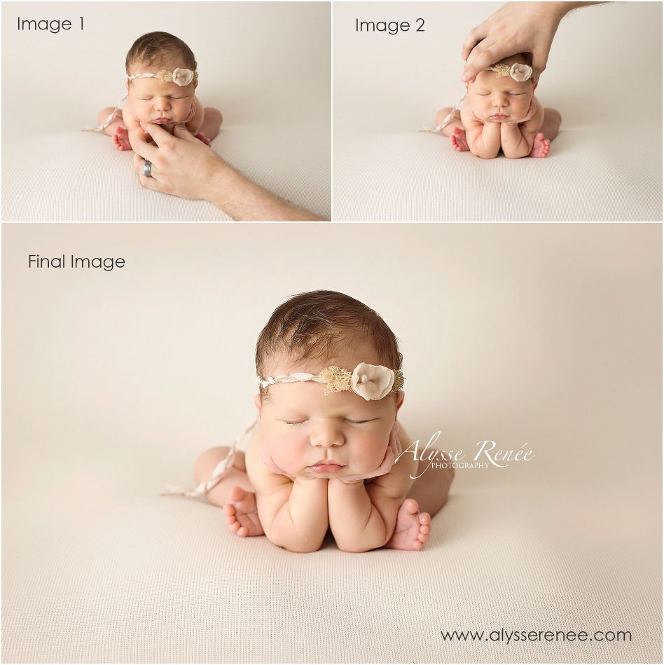 How to do froggy newborn photography pose the safe way