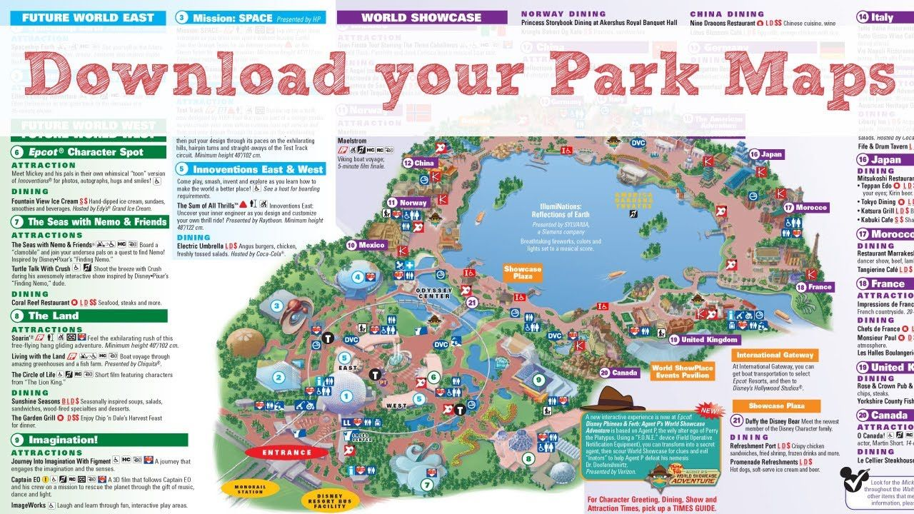 Disneyworld map maxresdefaultg travel theme parks pinterest disneyworld map maxresdefaultg gumiabroncs