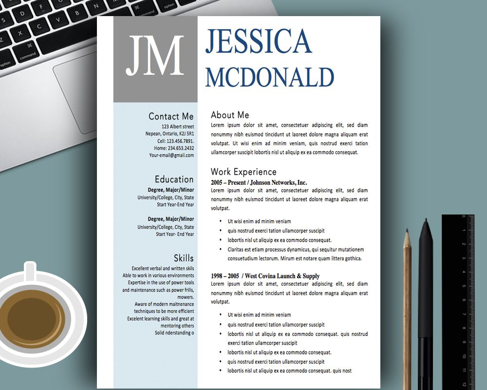 free creative resume templates word modern template pdf free ...