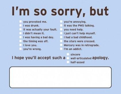 hahaha break up note.