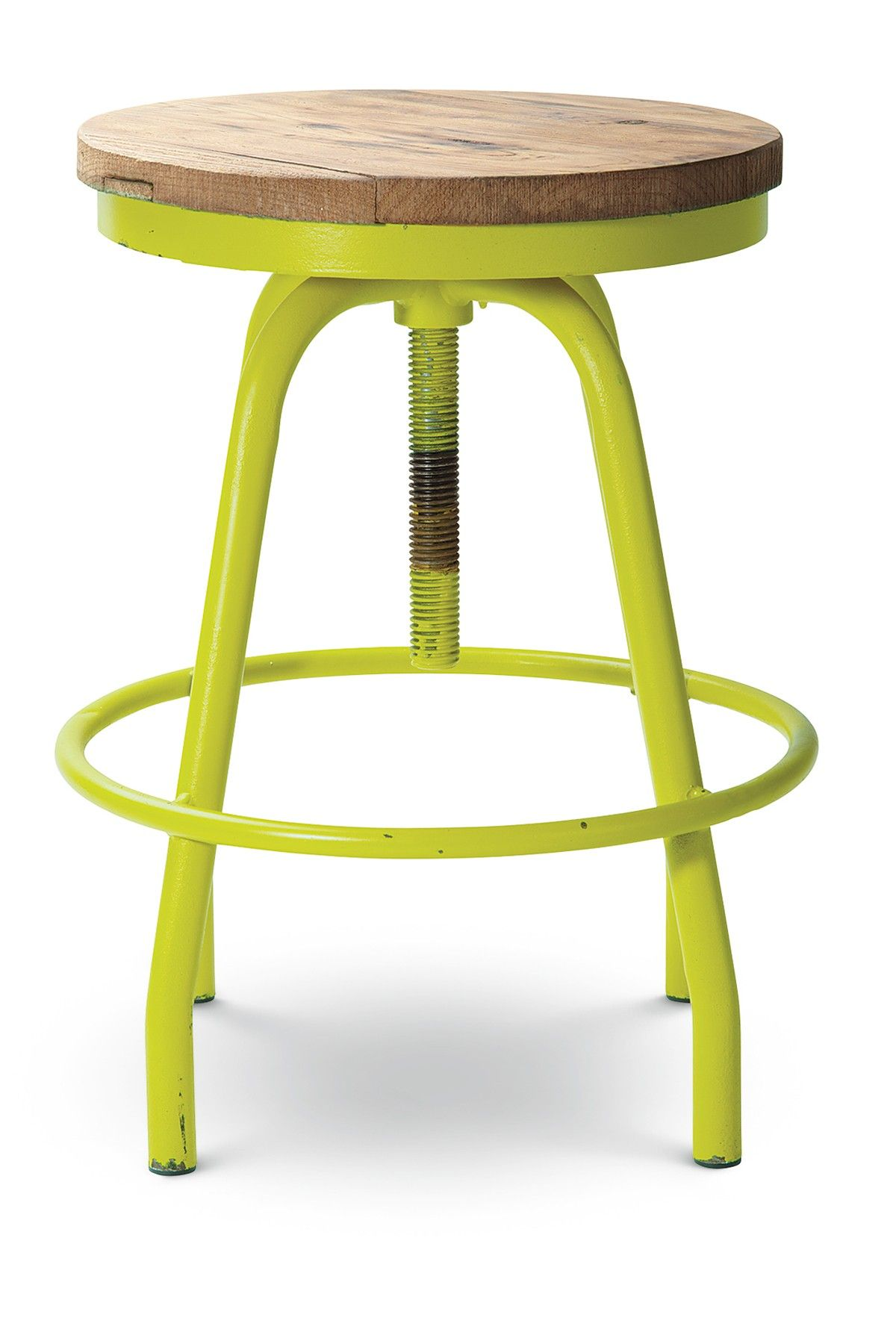 Transpac Imports | Chartreuse Lynwood Stool | Nordstrom Rack | Home ...