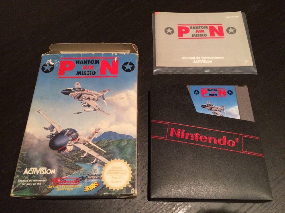 Phantom Air Mission Nintendo Nes Pal B Cib Juegos Retro Videojuegos