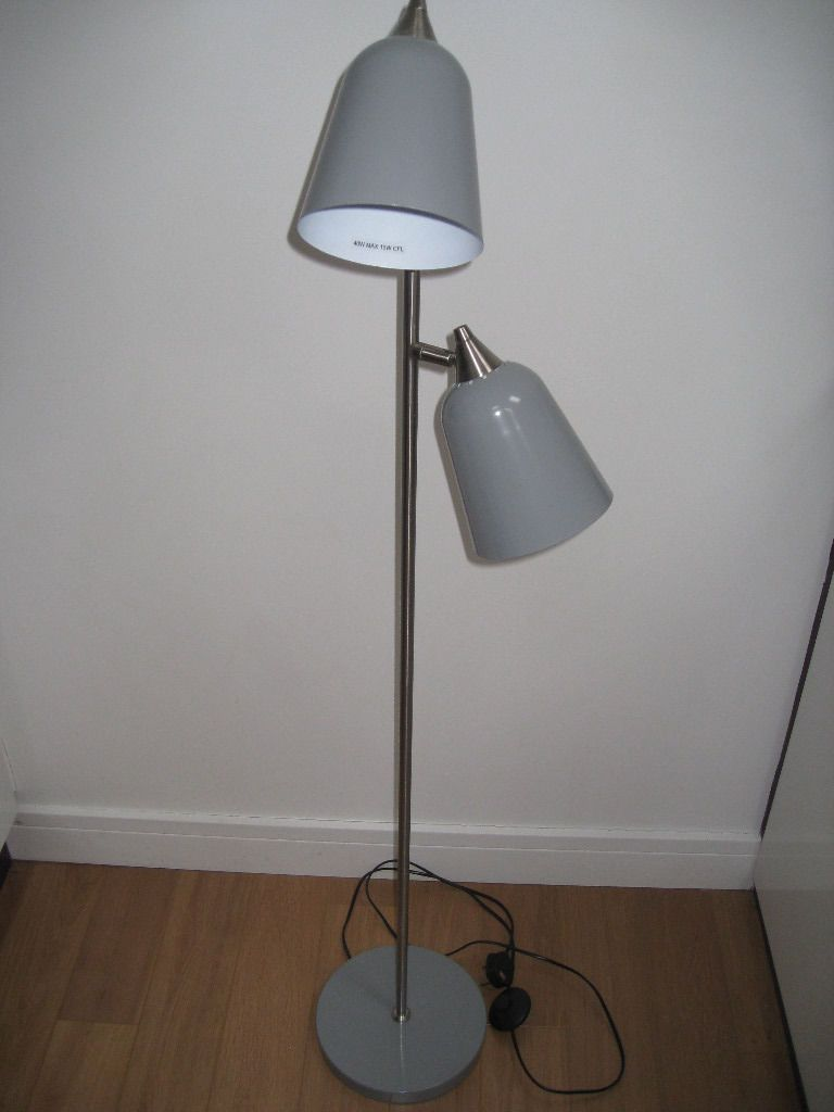 Two Head Floor Lamp