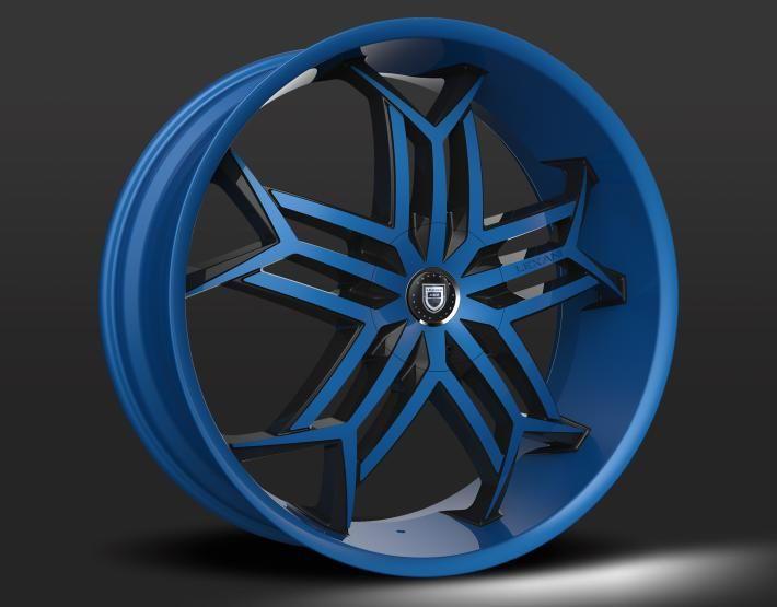 Custom - Blue Finish