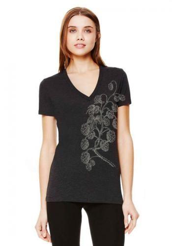 Hops Vine Womens Fashion V-Neck Tee http://pinterest.com/nfordzho/2013-fashion-t-shirts/