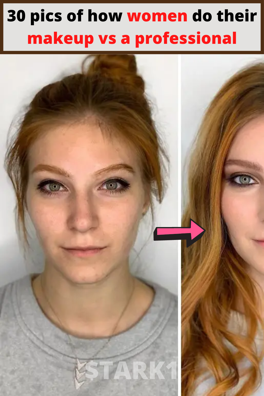 30 Pics Of How Women Do Their Makeup Vs A Professional In 2020 Putting On Makeup Makeup Hair Styles