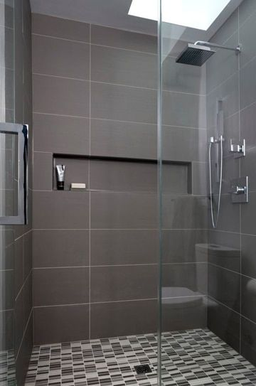 Resultado de imagen para ba os modernos peque os con ducha for Remodelacion de banos pequenos modernos