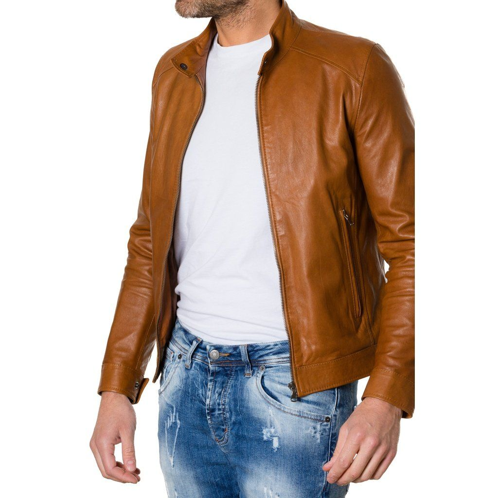 Men S Handmade Leather Jacket 100 Genuine Leather Selected Materials And 100 Made In Italy The Style Prop Leather Jacket Jacket Style Men S Leather Jacket [ 1024 x 1024 Pixel ]