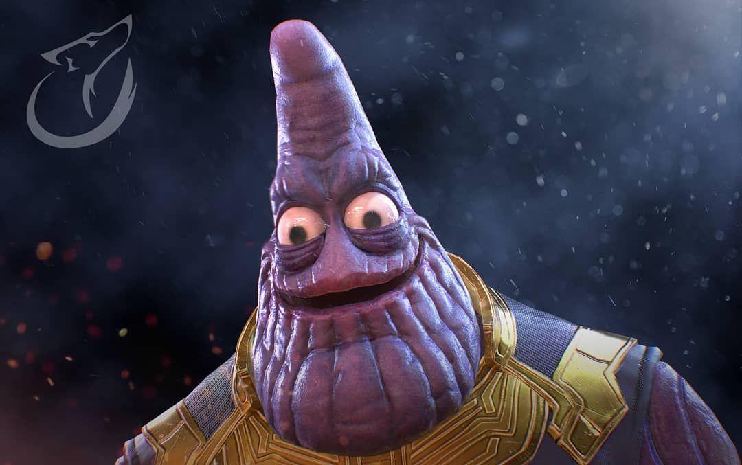 Patrick Thanos Marvel Memes Marvel Avengers Infinity War
