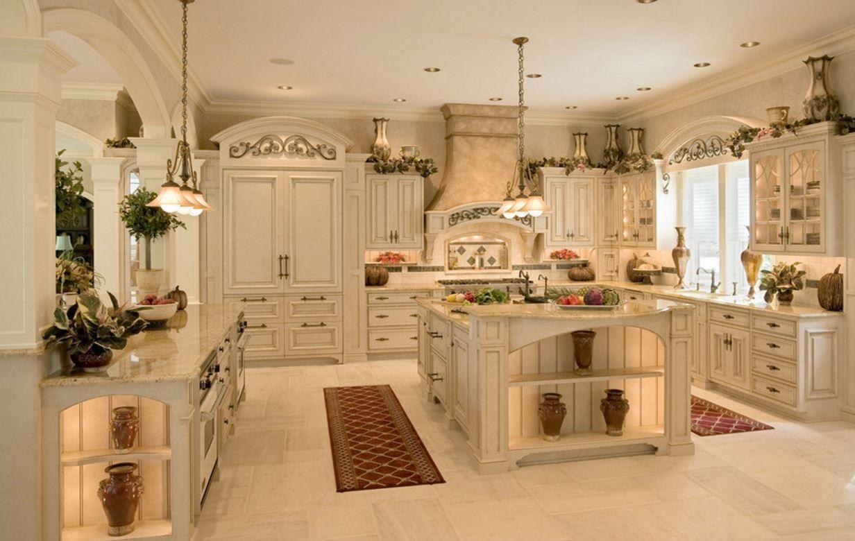Dekoracje Do Domu Ogrodu Dream Kitchens Design Country Kitchen Designs French Kitchen Design