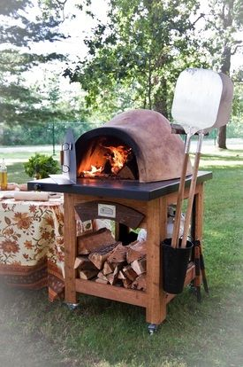 heat up your parties with a portable pizza oven garden goodness