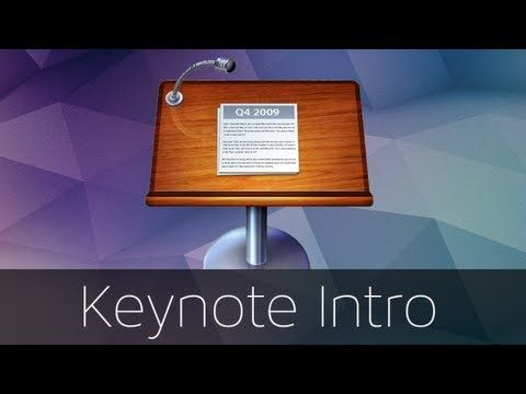 How To Make A Cool Intro In Keynote Youtube Keynote Intro Cool Stuff