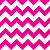 Pink Chevron Wallpaper by Megan Kay Design available on Spoonflower #pinkchevronwallpaper