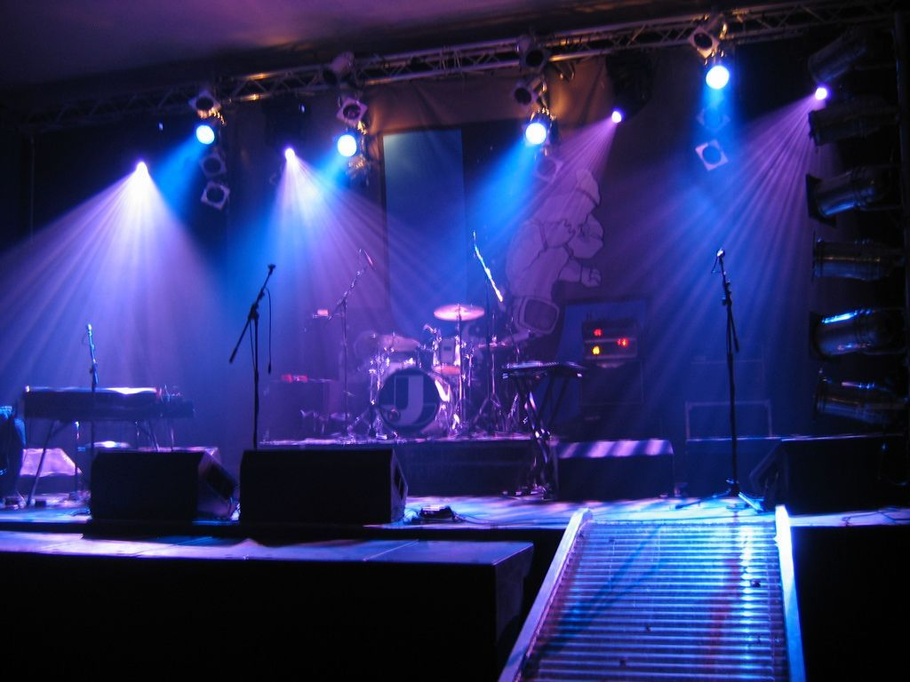 Image result for music lighting design small venues stage
