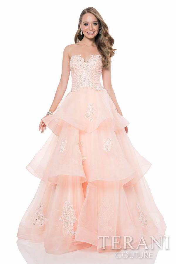 Vestidos de quince años de gala 2015 de Terani Couture | Quinceañera ...