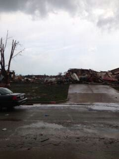 Pic that show just a small amount of the devastation that hit Oklahoma May 20, 2013