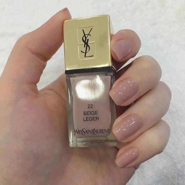 YSL 22 Beige Leger | nails in 2019 | Beauty, Ysl, Nail polish