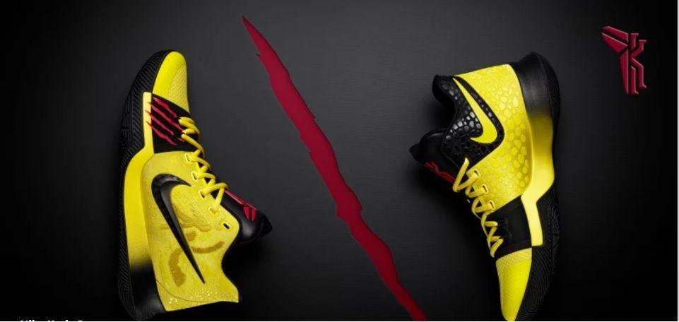 Kyrie Irving\u0027s Bruce Lee and Kobe,Inspired Sneakers Release