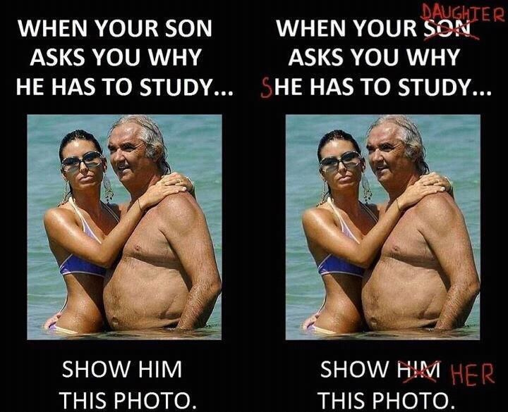 When Your Child Asks You Why She Or He Has To Study Funny Memes Funny Quotes Laugh
