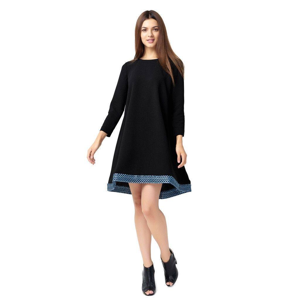 Buy Stylish black flare dress at Pop Up Fashion Sale for only