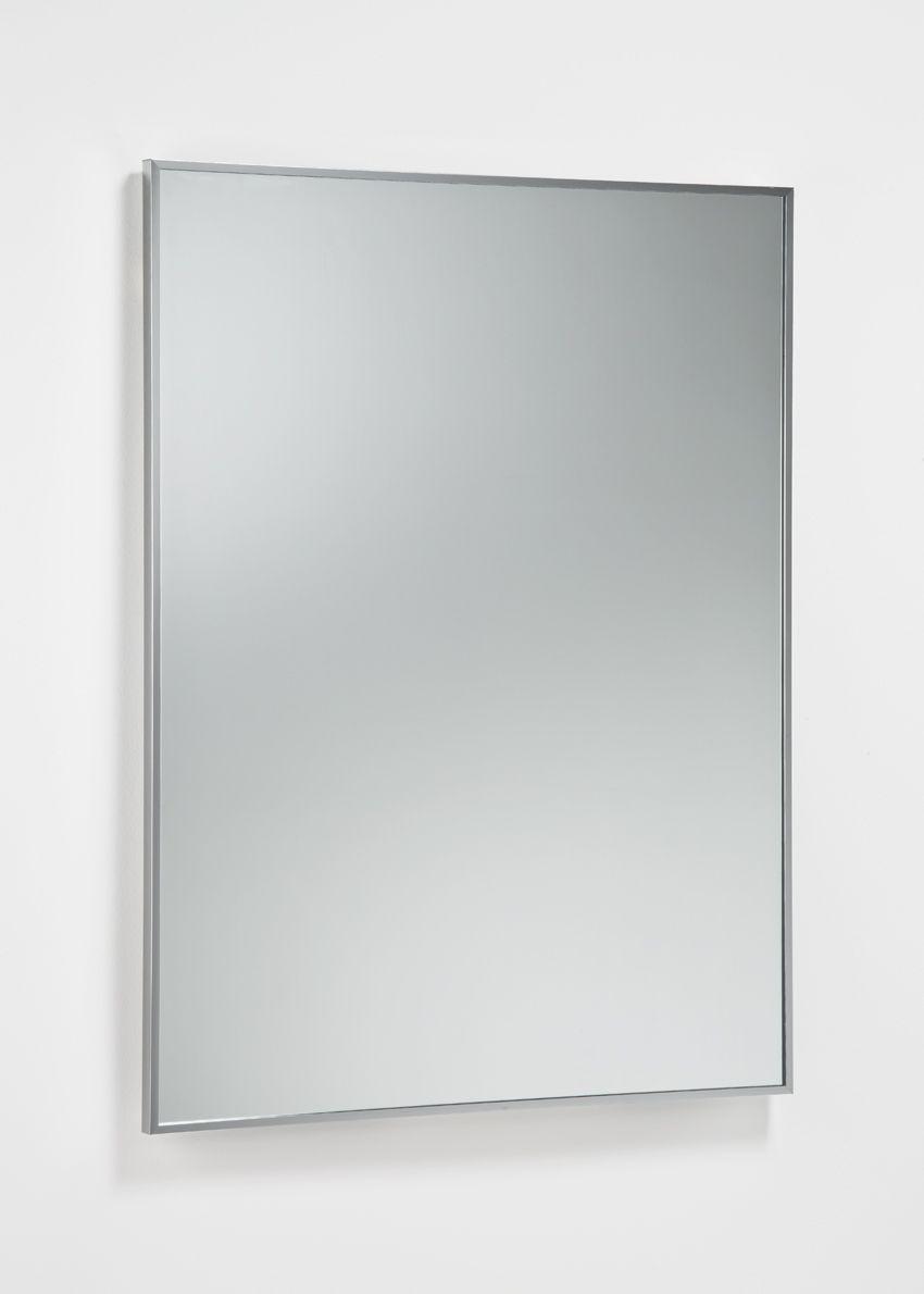 Espejo con marco de aluminio. | Espejos baño | Pinterest | Espejos ...