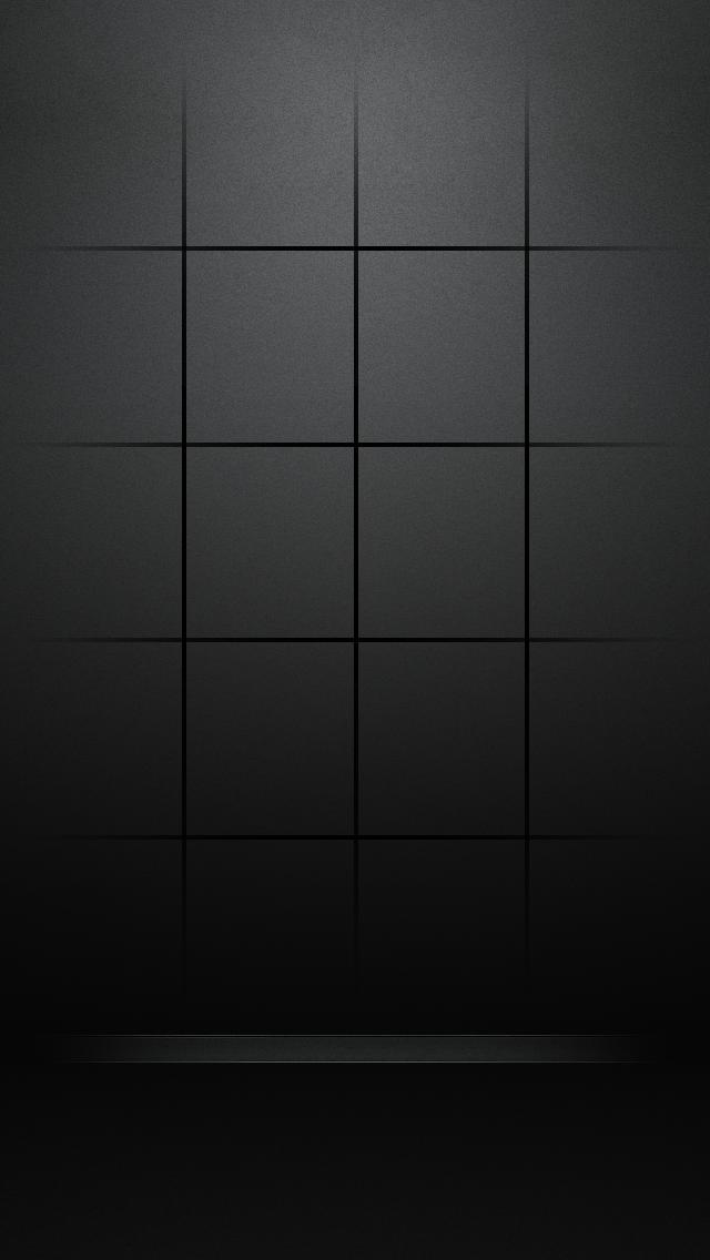 Iphone Wallpapers Iphone 5 Iphone 5s Wallpaper Black Wallpaper Grid Wallpaper
