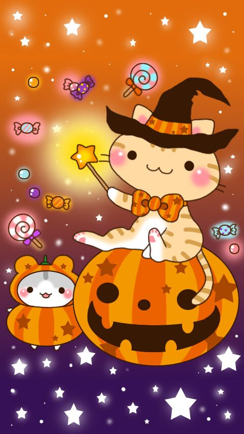 Halloween Kawaii Halloween Halloween Wallpaper Hello Kitty Halloween