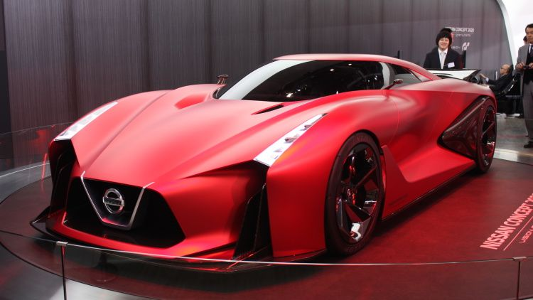 Nissan Concept 2020 Vision Gran Turismo Tokyo 2015 Photo Gallery Tokyo Motor Show Nissan Concept Cars Vintage