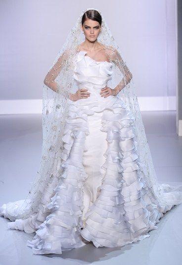 ralph & russo: vestido de novia parís alta costura primavera verano