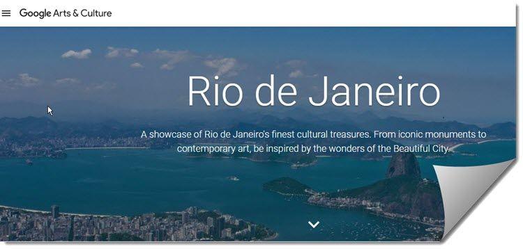 Google lanza una colección online con exposiciones y vistas panorámicas de Río de Janeiro https://t.co/NwURlr6Mg3 https://t.co/qUlRGkY7bn #CPMX8