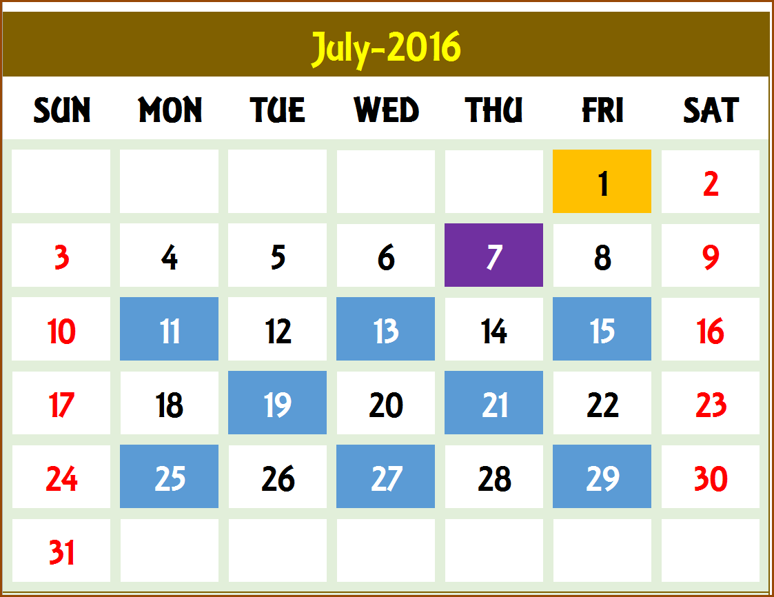 Create Personalized Event Calendars In Excel Using This Event