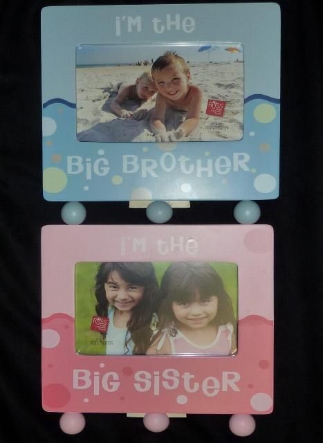 Big Brother And Big Sister Picture Frame Im The Big Sister