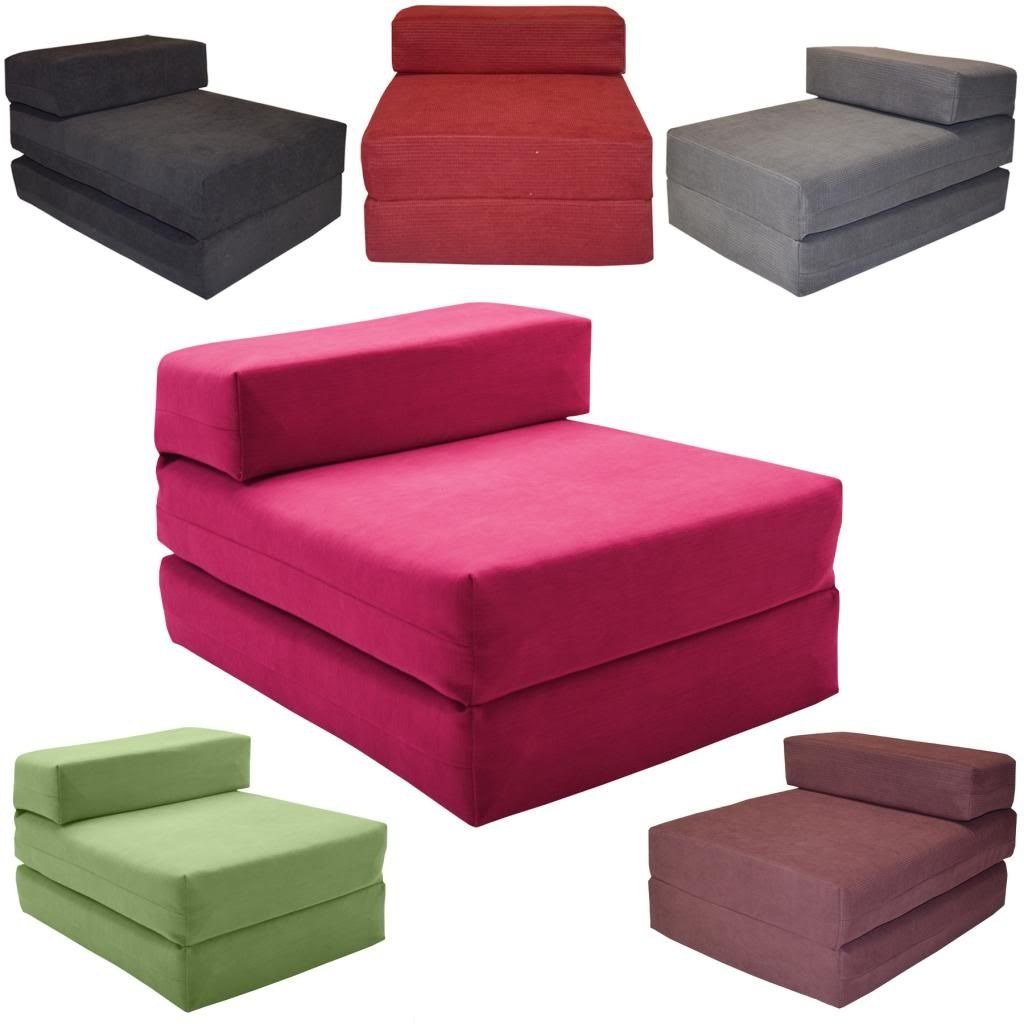 Foam Chair That Folds Out Into Bed Chair Bed Fold Out Chair