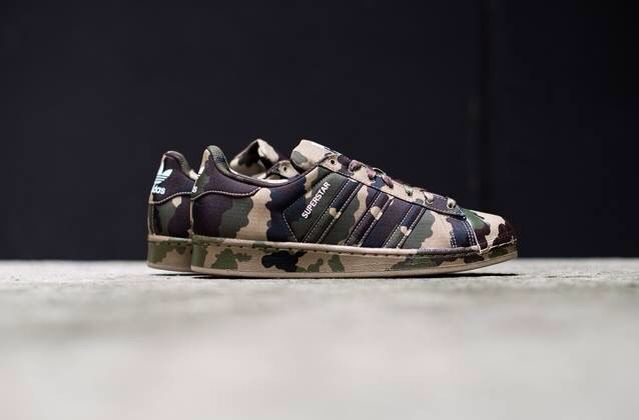 @allcreations #sneakers #communication ##matketing #basket militaire #adidas #superstar