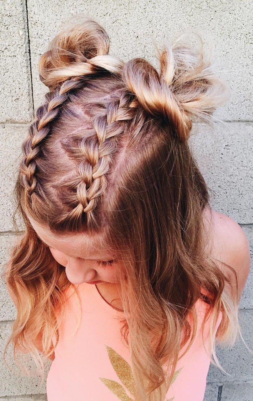 Trendy Braided Hairstyles For Women To Look Amazingly Good Looking Amazingly Braided Hairstyles Looki Braided Hairstyles Cool Braid Hairstyles Hair Styles