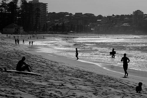 Manly beach Sidney