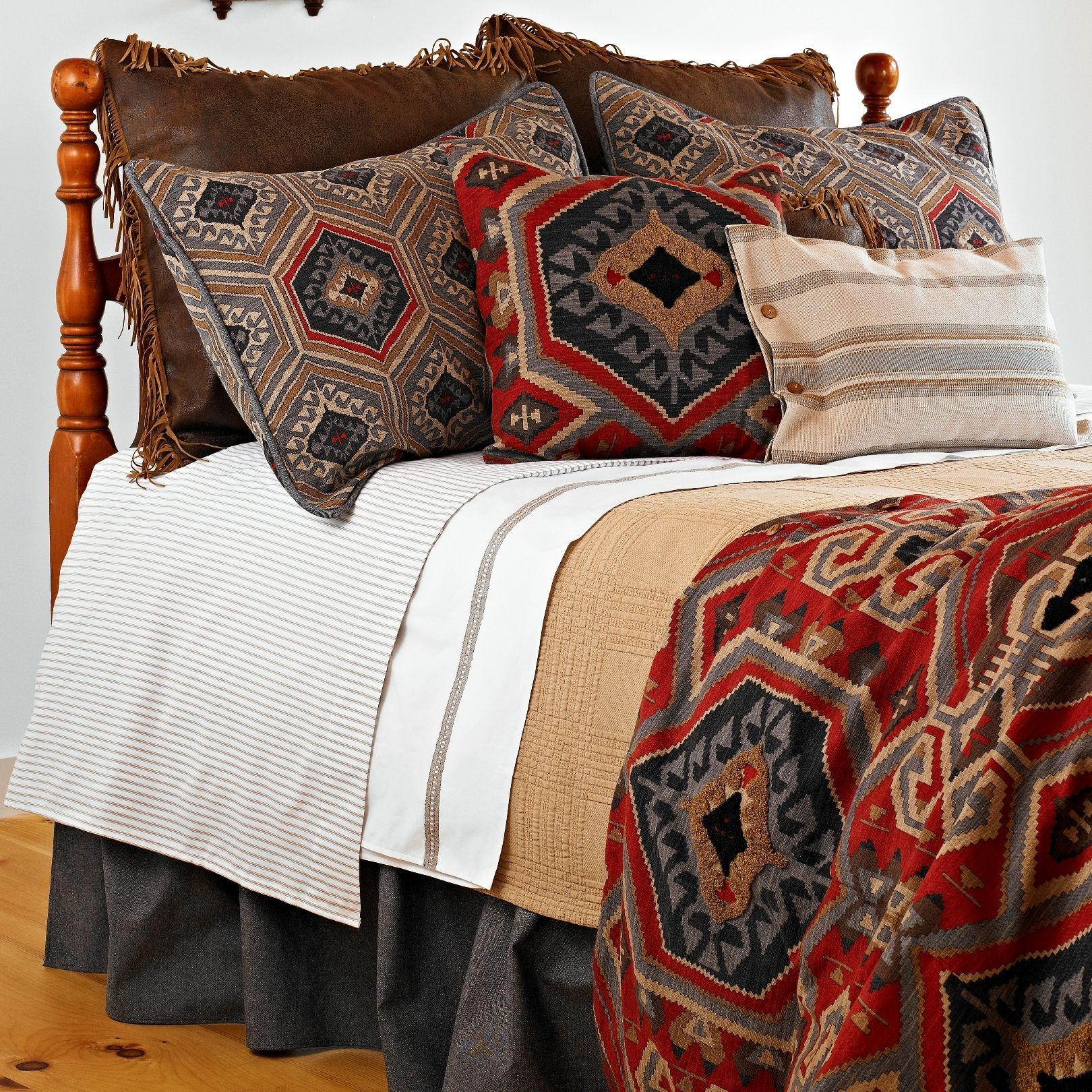 Traditions by Pamela Kline Eagle River Bedding Collection