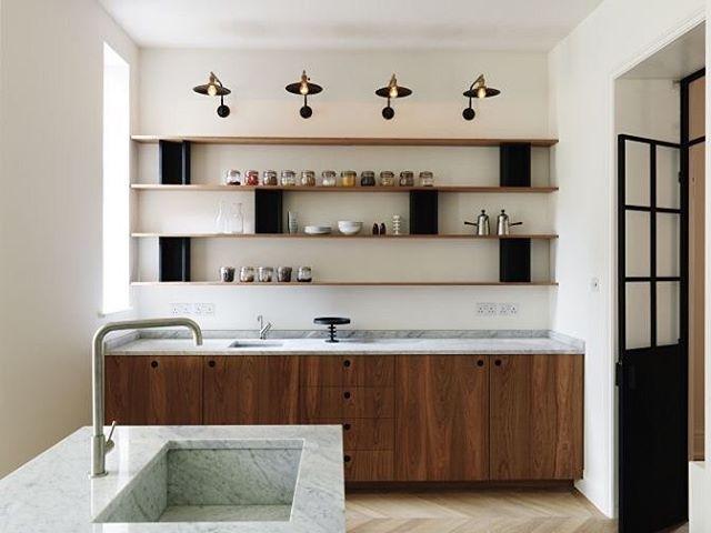 West London Kitchen Studio Maclean  @studiomaclean  #kitchen #kitchendesign #instakitchen #lights #marble #studiomaclean #simplicity…