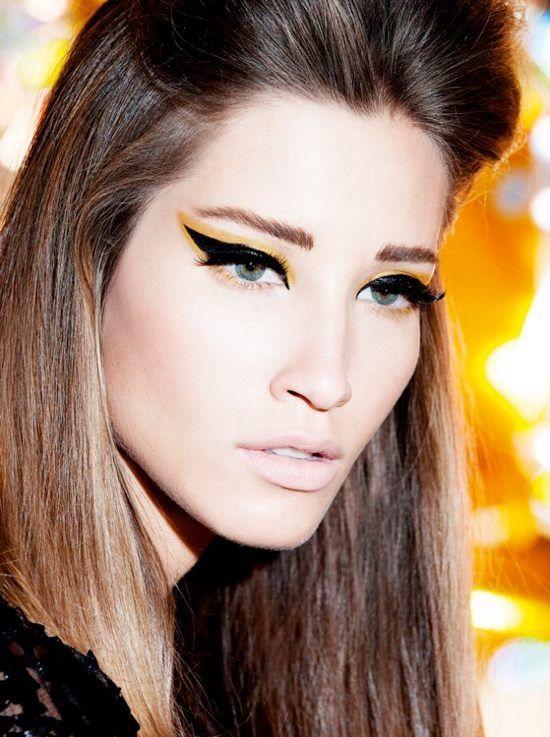 maquillaje abeja Maquillaje Artstico Pinterest Abeja