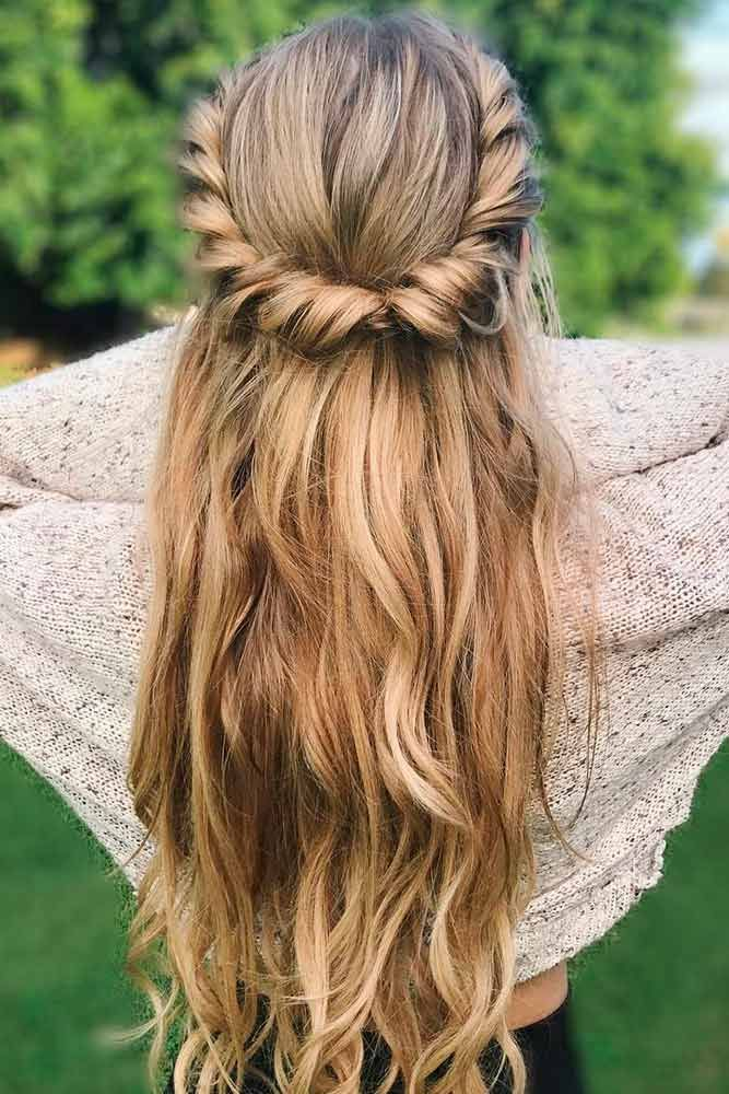 36 Easy Summer Hairstyles To Do Yourself Hair Pinterest Hair