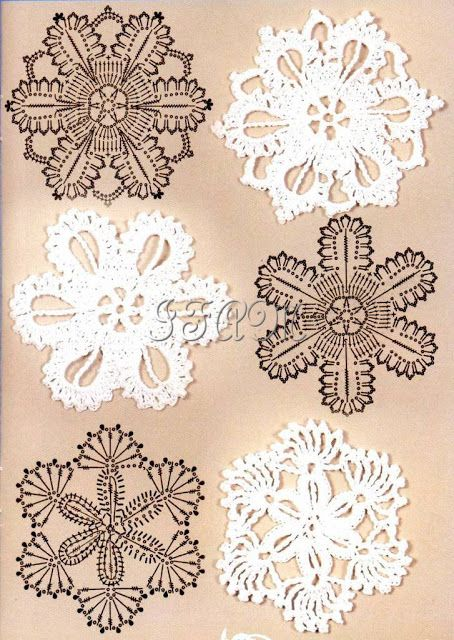 Interesting Motifs Crochet And Arts Crotchet Patterns