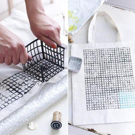 stoff bedrucken anleitung und kreative ideen stoff bedrucken geschirrtuch und bedrucken. Black Bedroom Furniture Sets. Home Design Ideas
