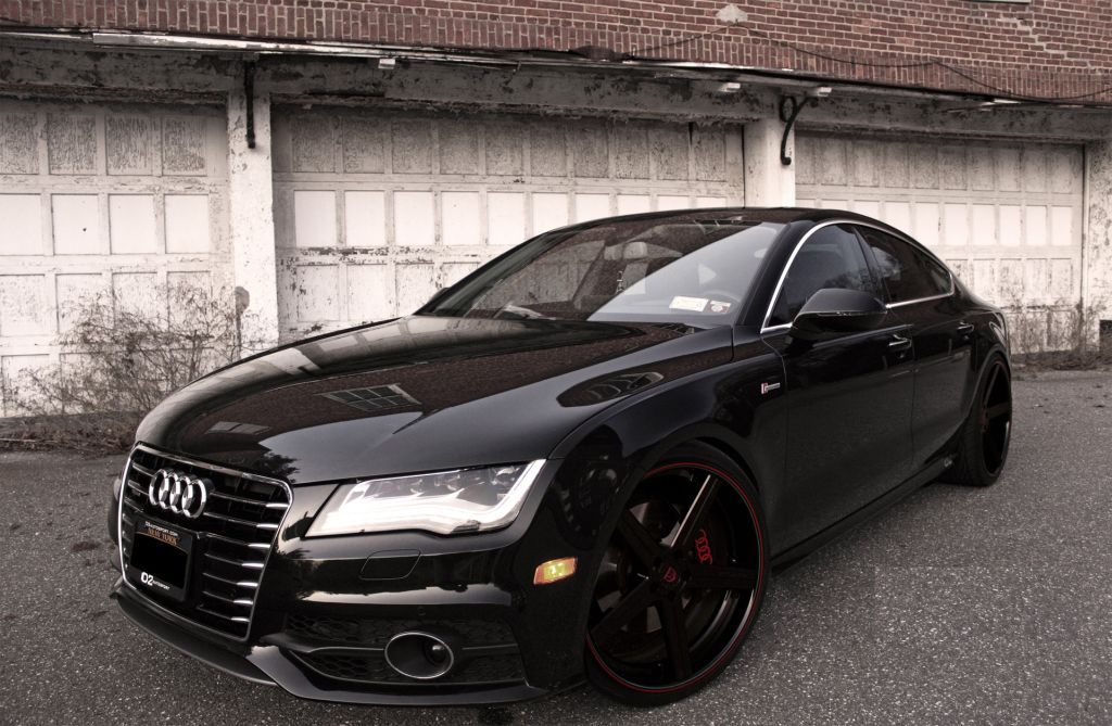 Audi A7 With Deep Concave Cv2 Wheels By D2forged Audi Audi A7 Audi Cars