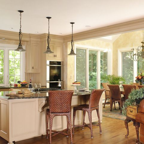 Best Kitchen With Sunny Dining Breakfast Nook Cream Colored 400 x 300
