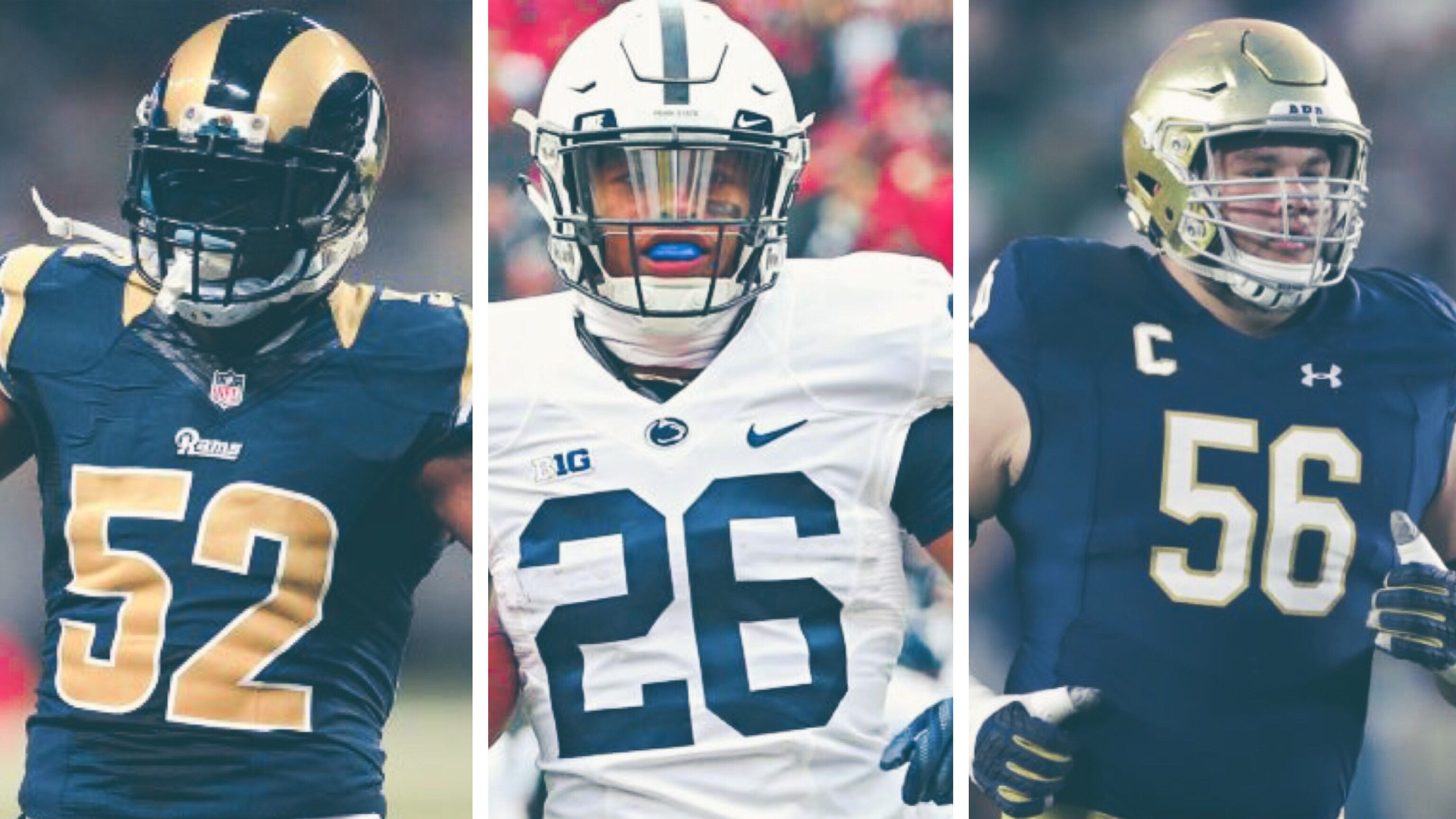 Alec Ogletree Georgia giants drafting quenton nelson, saquon barkley a lock for