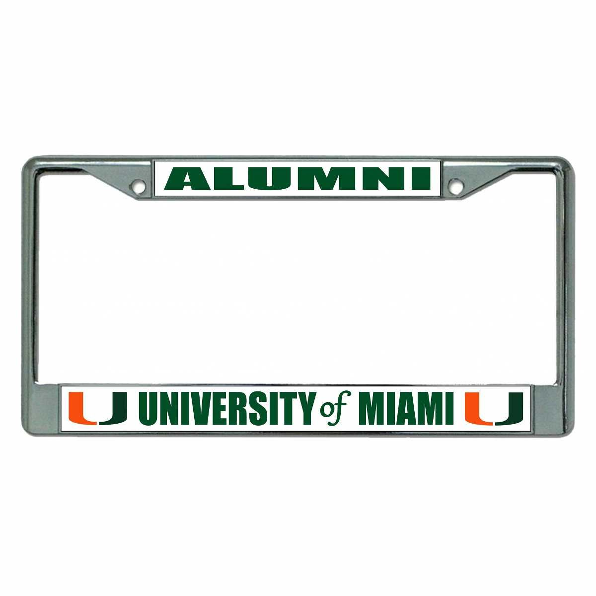 University Of Miami Alumni Photo License Plate Frame | Wanted ...