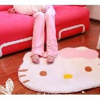 FREE SHIP Hello Kitty Face Area Rug 30 X 25 inches